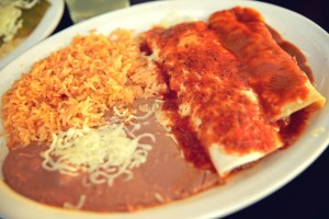 15 enchiladas at los 3 amigos mexican restaurant chattanooga